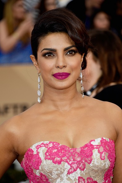 Caption:LOS ANGELES, CA - JANUARY 30: Actress Priyanka Chopra attends the 22nd Annual Screen Actors Guild Awards at The Shrine Auditorium on January 30, 2016 in Los Angeles, California. (Photo by Frazer Harrison/Getty Images)
