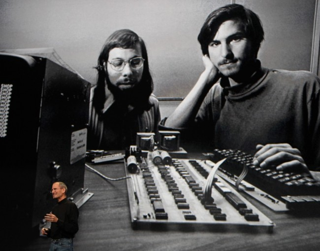Steve Jobs and Steve Wozniak (Credic: Reuters)