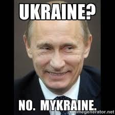 Ukraine? NO. Mykraine.