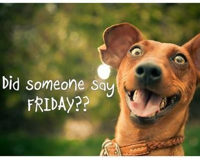 Did someone say FRIDAY??