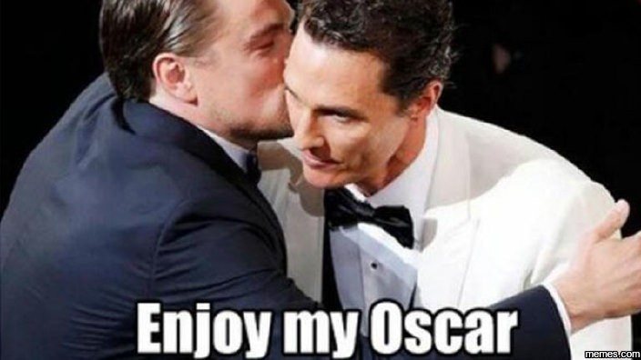 Enjoy my Oscar