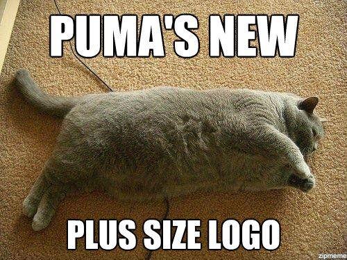 Puma's New plus size logo