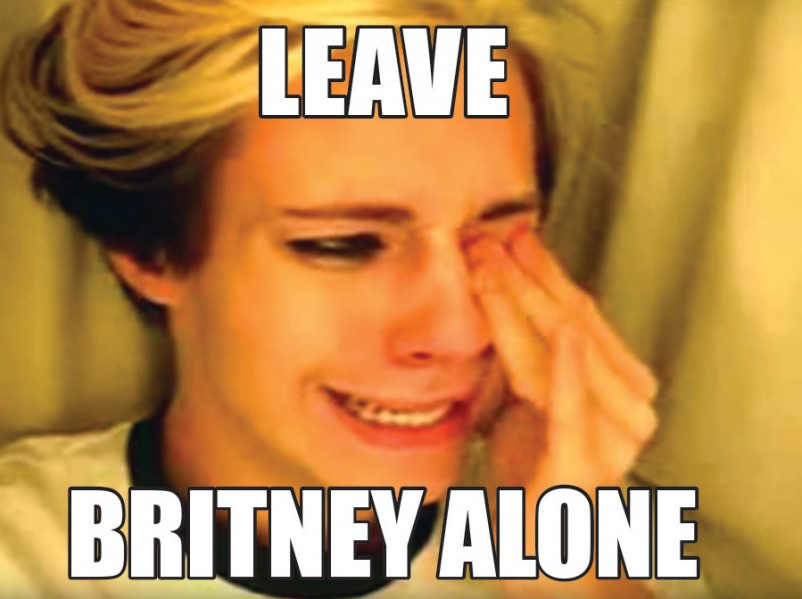 LEAVE BRITNEY ALONE
