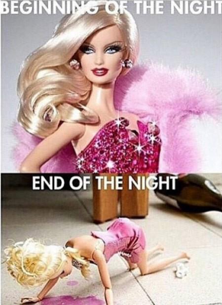 BEGINNING OF THE NIGHT...