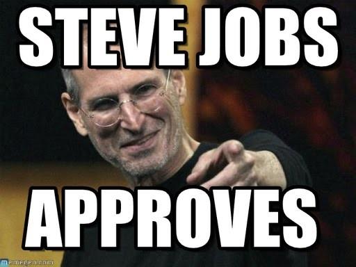 Steve Jobs....
