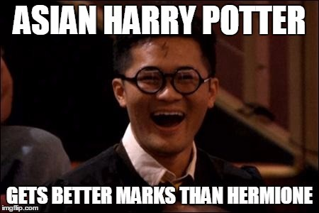 Asian Harry Potter..