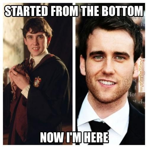 Started from the bottom..