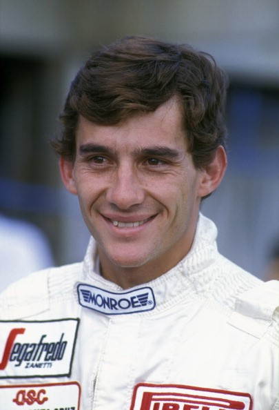 Ayrton Senna of Brazil, driver of the #19 Toleman Group Motorsport Toleman TG183B Hart S4 turbo during practice for the Brazilian Grand Prix on 24th March 1984 at the Jacarepagua Circuit, Jacarepagua, Rio de Janeiro, Brazil.