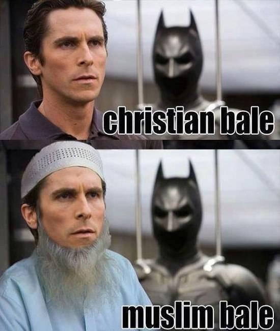christian bale vs muslim bale