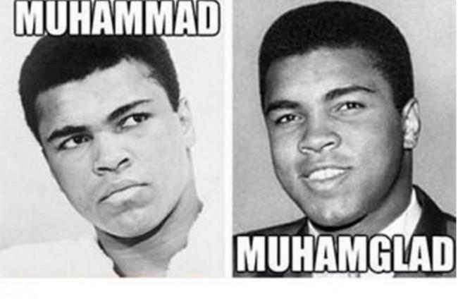 MUHAMMAD vs MUHAMGLAD