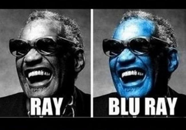 Ray vs Blu Ray