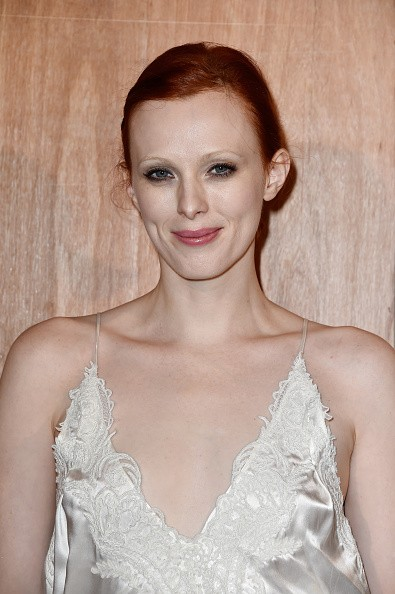 Caption:PARIS, FRANCE - MARCH 06: Karen Elson attends the Givenchy show as part of the Paris Fashion Week Womenswear Fall/Winter 2016/2017 on March 6, 2016 in Paris, France. (Photo by Pascal Le Segretain/Getty Images)