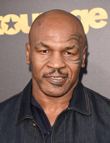 Mike Tyson attends the premiere of Warner Bros. Pictures' 'Entourage' at Regency Village Theatre on June 1, 2015 in Westwood, California.