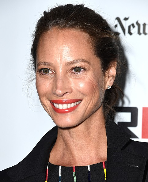 Caption:NEW YORK, NY - OCTOBER 04: Christy Turlington Burns attends the 53rd New York Film Festival - 'Bridge Of Spies' - Arrivals at Alice Tully Hall, Lincoln Center on October 4, 2015 in New York City. (Photo by Nicholas Hunt/Getty Images)