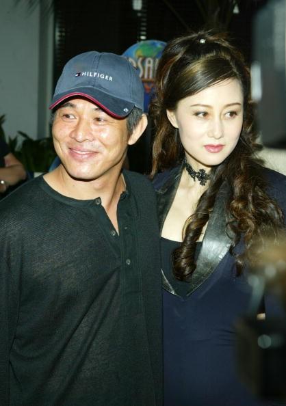 Jet Li & wife Nina Li Chi at the Universal Amphitheatre in Universal City, California