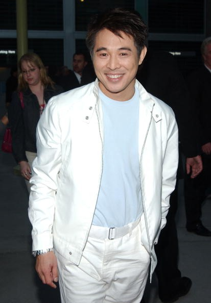 Jet Li during 'Hero' Los Angeles Premiere - Arrivals at The ArcLight in Hollywood, California, United States.