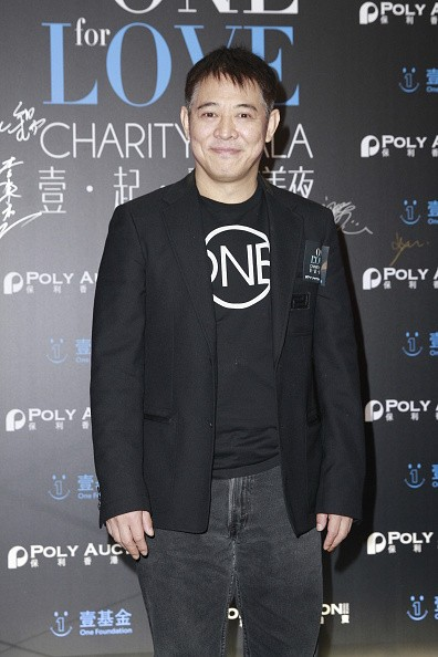 Actor Jet Li attends 'One Foundation' charity auction at Grand Hyatt on December 17, 2014 in Hong Kong, China.