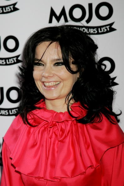 Caption:LONDON - JUNE 18: Bjork arrives at The MOJO Honours List Awards at The Brewery on June 18, 2007 in London, England. (Photo by Chris Jackson/Getty Images)