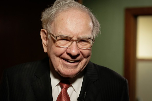 Warren Buffett in his office in Omaha, Nebraska, on August 4, 2015