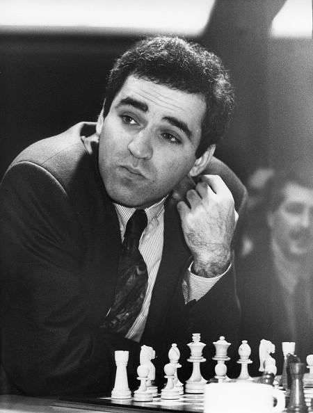 Garri Kasparow, *13.04.1963-, Schachspieler, Russland, Portrait, - 1992