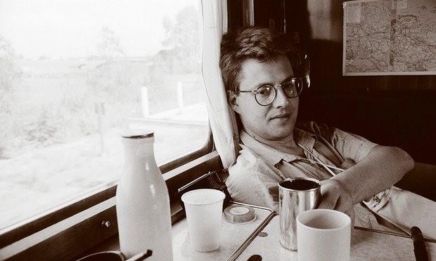 The original Millennium trilogy author Stieg Larsson in Hong Kong, 1987.