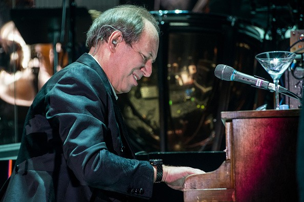 Hans Zimmer performs at SSE Arena on April 6, 2016 in London, England.