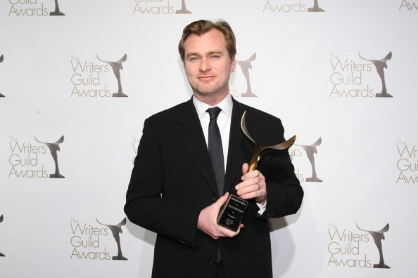 Writer Christopher Nolan attends the 2011 Writers Guild Awards Press Room at the Renaissance Hollywood Hotel on February 5, 2011 in Hollywood, California.