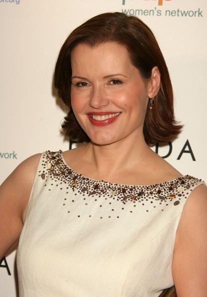 Geena Davis during Step Up Women's Network Inspiration Awards sponsored by Escada - Arrivals at Beverly Hilton Hotel in Beverly Hills, California, United States.