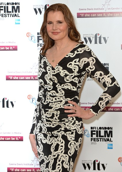 Geena Davis attends the Geena Davis symposium during the BFI London Film Festival at BFI Southbank on October 8, 2015 in London, England.