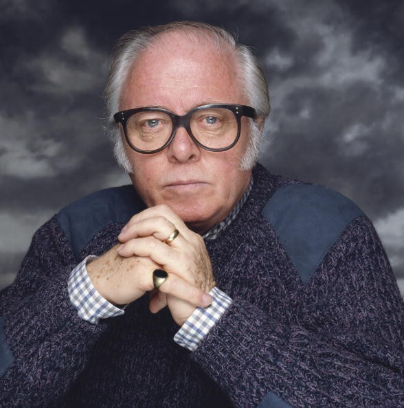 English actor and director Richard Attenborough, circa 1990.