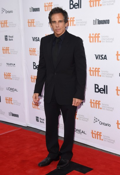 Actor Ben Stiller attends the 'While We're Young' premiere during the 2014 Toronto International Film Festival at Princess of Wales Theatre on September 6, 2014 in Toronto, Canada.