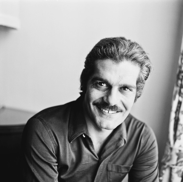 Egyptian actor Omar Sharif, 9th July 1969.