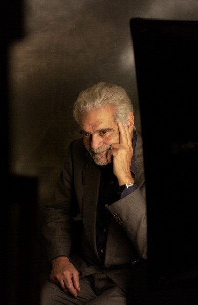 Egyptian actor Omar Sharif at the Venice Film Festival, Italy, 2003. (Photo by )