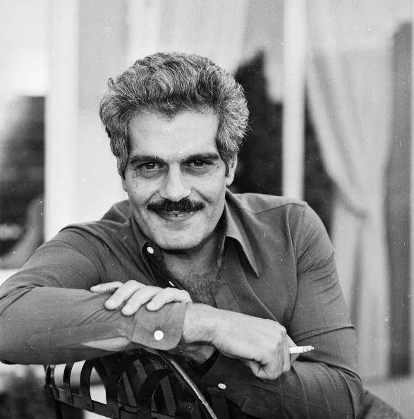Egyptian actor Omar Sharif, born Michel Shahoub in Alexandria.