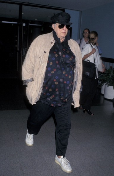 Marlon Brando during Marlon Brando At LAX Arriving From New York at Los Angeles International Airport in Los Angeles, California, United States.