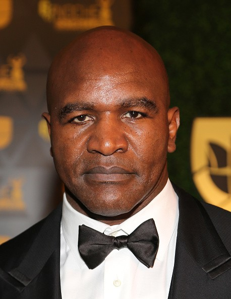 Professional boxer Evander Holyfield attends Univision Deportes 2015 at Univision Studios on December 20, 2015 in Miami, Florida.