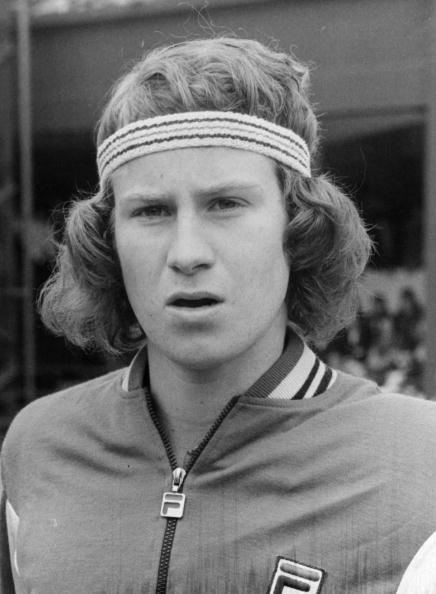 American tennis player John Patrick McEnroe.