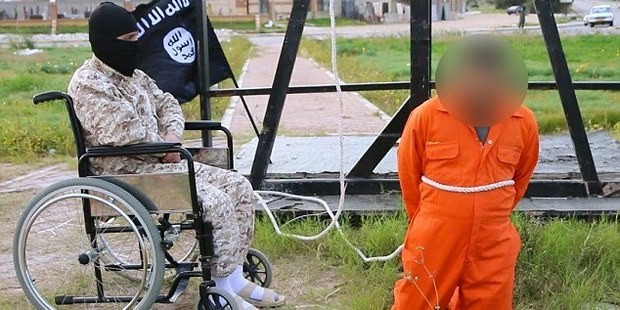 Isis employs wheelchair-bound killer