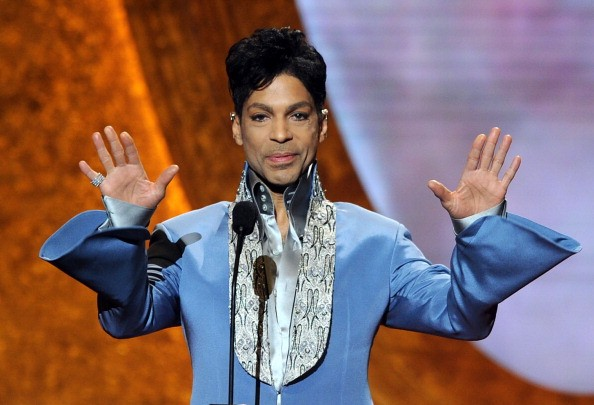 Prince speaks onstage at the 42nd NAACP Image Awards held at The Shrine Auditorium on March 4, 2011 in Los Angeles, California.