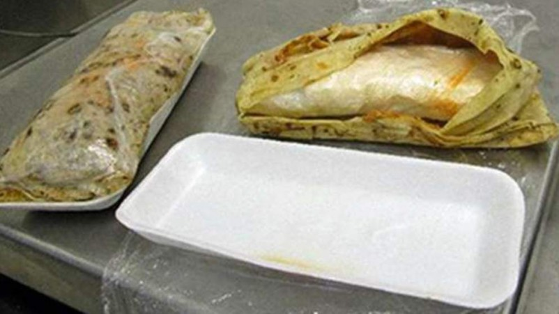 Female Smuggler Held With Meth-Filled Burritos
