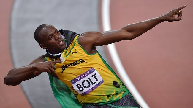 Sorry, 'Phelps Face,' Usain Bolt's photo wins Olympics with style and a smile