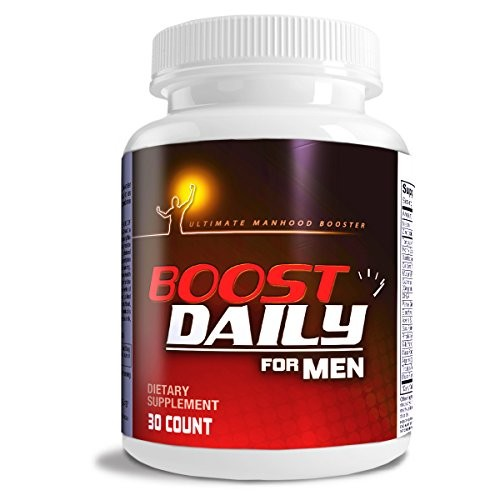 (VIDEO Review) Boost Daily For Men COMPLETE Natural Male Health Formula MAXIMUM Male Health Support blend of natural ingredients in One Daily Male Health Supplement.
