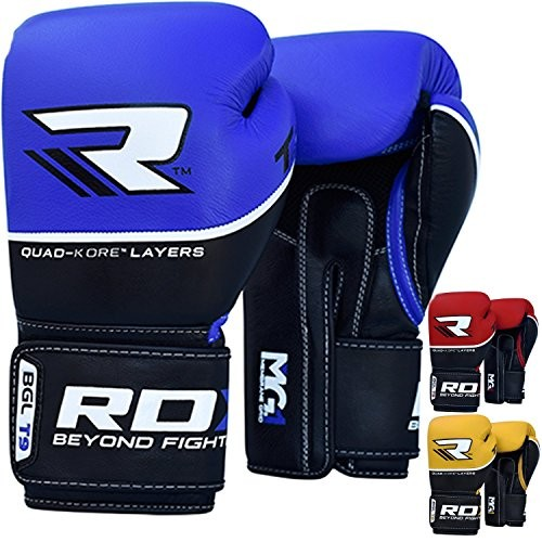 Video Review Rdx Cow Hide Leather Gel Boxing Gloves