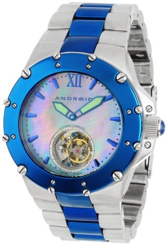(VIDEO Review) Android Unisex AD636BBU Divemaster Enforcer 45 Automatic Tourbillon Stainless Steel Watch