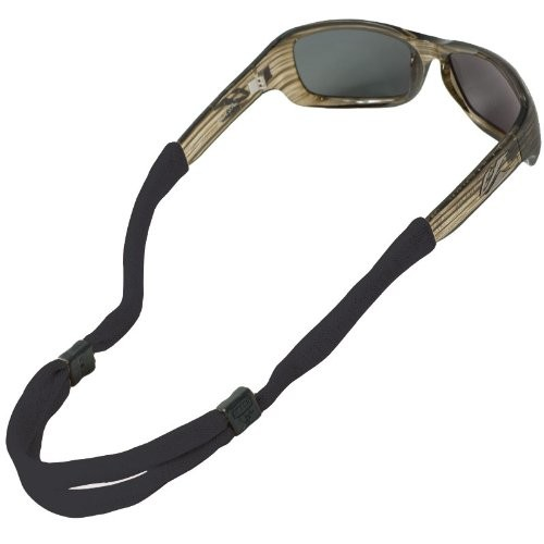 (VIDEO Review) Chums No Tail Adjustable Eyewear Retainer, Black