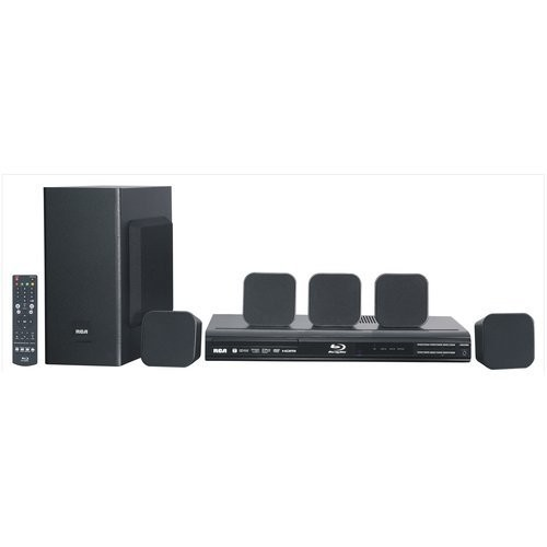 (VIDEO Review) RCA - Home Theater System with Blu-ray Player RTB10323LW 200W