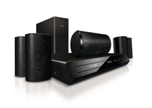 (VIDEO Review) Philips HTS3564/F7 3D Blu-Ray 5.1 Home Theatre System