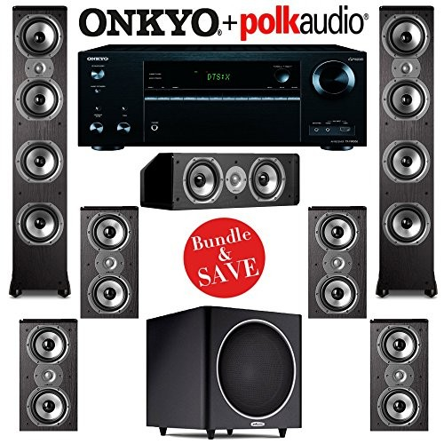 (VIDEO Review) Polk Audio TSi 500 7.1 Home Theater System with Onkyo TX-NR656 7.2-Ch Network AV Receiver