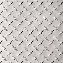 ".045 Aluminum Diamond Plate Sheet 24/"" x 48/"""