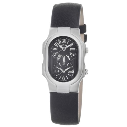 (VIDEO Review) Philip Stein Women's 1-MB-CB Signature Black Leather Strap Watch